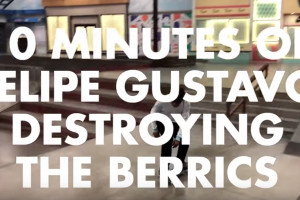 Felipe Gustavo - Destroying The Berrics