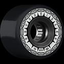BONES WHEELS ATF Rough Rider Tank Skateboard Wheels 59mm 80a 4pk Black