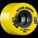 BONES WHEELS Rough Riders Skateboard Wheels 59mm Yellow 4pk