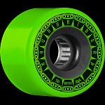 BONES WHEELS ATF Rough Rider Tank Skateboard Wheels 56mm 80a 4pk Green