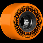 BONES WHEELS ATF Rough Rider Tank Skateboard Wheels 59mm 80a 4pk Orange