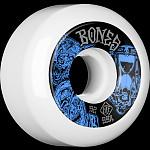 BONES WHEELS STF Time Beasts Skateboard Wheels 52mm 99A Easy Streets V5 Sidecut 4pk White