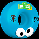 BONES WHEELS STF Googly Blues Skateboard Wheels V4 55mm 103A 4pk