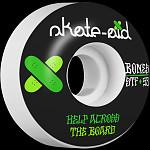 BONES WHEELS STF Skateboard Wheels Collabo Skate Aid 53mm 103a 4pk V1 Standard