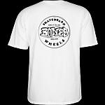 BONES WHEELS Heritage Stamp T-Shirt White