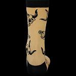 BONES WHEELS Desert Skull Tan Sock