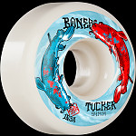 BONES WHEELS PRO STF Skateboard Wheels Tucker Big Fish 54mm V1 Standard 103A 4pk