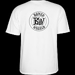 BONES WHEELS Branded T-shirt White