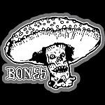 BONES WHEELS Night Watch Sticker Singles - one each