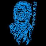 """BONES WHEELS Time Beasts 4"""" Asstd. Sticker 20pk"""