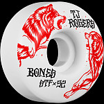 BONES WHEELS STF Pro Rogers Survival Skateboard Wheels V3 Slims 52mm 103A 4pk