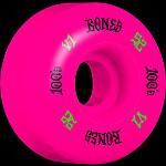 BONES WHEELS 100 Skateboard Wheels V1 Standard 52mm 100A 4pk Pink