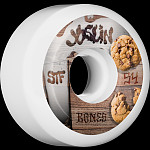 BONES WHEELS STF Pro Joslin Cookies Skateboard Wheels V5 Sidecut 54mm 4pk