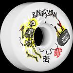BONES WHEELS STF Pro Bingaman Zapped Skateboard Wheels V5 Sidecut 55mm 4pk