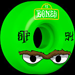 BONES WHEELS STF Mean Greens Skateboard Wheels V1 54mm 103A 4pk