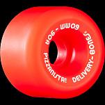 BONES WHEELS X PIZZANISTA! Delivery Bones Wheels 60mm O.G. Formula Rat Bone Red