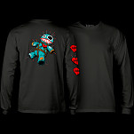 BONES WHEELS VooDoo L/S T-Shirt Black