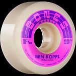 BONES WHEELS PRO STF Skateboard Wheels Koppl Rollersurfer 54mm V6 Wide-Cut 99a 4pk