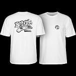 BONES WHEELS Heritage Boneless T-Shirt White