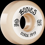 BONES WHEELS STF Skateboard Wheels Heritage Roots 52mm V5 Sidecut 99A 4pk