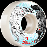 BONES WHEELS PRO STF Skateboard Wheels Rogers Arctic Battle 52mm V3 Slims 103A 4pk
