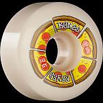 BONES WHEELS PRO STF Skateboard Wheels Reyes Pipin Hot 56mm V6 Wide-Cut 99a 4pk