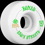 BONES WHEELS STF Easy Streets Skateboard Wheels V1 Standard 53mm 99a 4pk