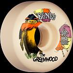 BONES WHEELS PRO STF Skateboard Wheels The Greenwood 54mm V5 Sidecut 99a 4pk