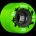 BONES WHEELS ATF Rough Rider Skateboard Wheels Wranglers 59mm 80a 4pk Green