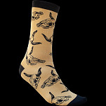 BONES WHEELS Desert Skull Tan Sock