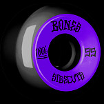 BONES WHEELS 100 #2 V5 Skateboard Wheel 55mm 4pk Black V5 Sidecut