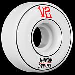 BONES WHEELS STF Annuals Skateboard Wheel Locks 53mm 4pk White