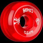 BONES SPF Clear Red 54x31 P5 Skateboard Wheel 84B 4pk