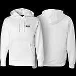 BONES WHEELS Hooded Sweatshirt Mikey White