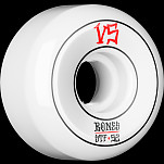 BONES WHEELS STF Annuals Skateboard Wheels Sidecuts 52mm 4pk White