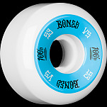 BONES WHEELS 100's 53x31 V5 Skateboard Wheels 100A 4pk