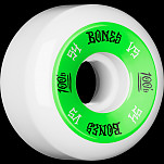 BONES WHEELS 100's 54x31 V5 Skateboard Wheels 100A 4pk