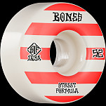 BONES WHEELS STF Skateboard Wheels Patterns 52 V4 Wide 103A 4pk