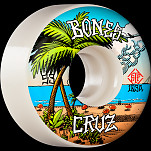 BONES WHEELS PRO STF Skateboard Wheels Cruz Buena Vida 53mm V2 Locks 103A 4pk