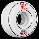 BONES WHEELS STF Annuals Skateboard Wheel Locks 52mm 4pk White
