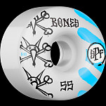 BONES SPF War Paint 55x34 P4 Skateboard Wheel 84B  4pk