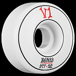BONES WHEELS STF Annuals Skateboard Wheel Standards 52mm 4pk White