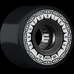 BONES WHEELS ATF Rough Rider Tank Skateboard Wheels 59mm 80a 4pk Black