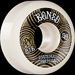 BONES WHEELS SPF Skateboard Wheels Ripples 58mm P5 Sidecut 81B 4pk White