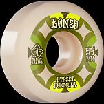 BONES WHEELS STF Skateboard Wheels Retros 54mm V5 Sidecut 99A 4pk