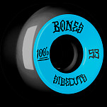 BONES WHEELS 100 #2 V5 Skateboard Wheel 53mm 4pk Black