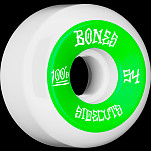 BONES WHEELS 100 #2 V5 Skateboard Wheel 54mm 4pk White