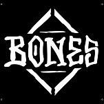 "BONES WHEELS Diamond Banner 36"" x 34"""