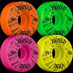 BONES WHEELS 100's Party Pack Skateboard Wheels 52mm 100A 4pk Multi