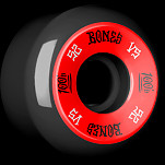 BONES WHEELS 100 100A Black 4pk